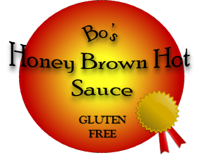 Bo's Honey Brown Hot Sauce