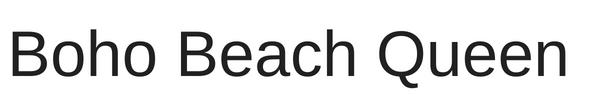 bohobeachqueen